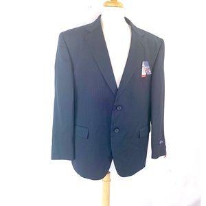 Stafford Performance Men's Wool Blazer Classic Cut